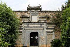 Chinese traditional door and gate Royalty Free Stock Images