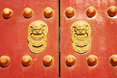 Chinese Traditional Door Stock Photos