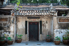 Chinese traditional door Royalty Free Stock Photography