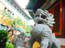 Chinese traditional dragon statue Royalty Free Stock Images