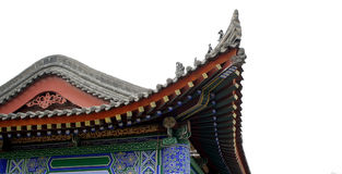Chinese traditional eaves Royalty Free Stock Photos