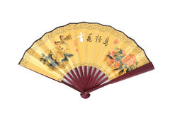 Chinese traditional fan. Royalty Free Stock Photography