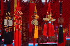 Chinese traditional festive Pendant Stock Photography