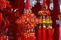 Chinese traditional festive Pendant Royalty Free Stock Photo