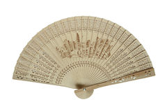 Chinese traditional folding fan Royalty Free Stock Photos