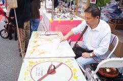 Chinese traditional folk art: Handmade sugar Royalty Free Stock Photography