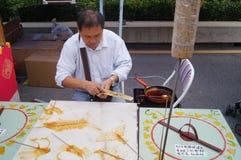 Chinese traditional folk art: Handmade sugar Royalty Free Stock Images