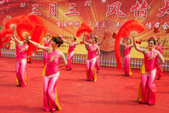 Chinese traditional  folk dance Stock Images