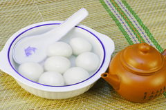 Chinese Traditional Food. Of Glutinous Rice Ball royalty free stock photos