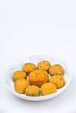 Chinese traditional food--Moon cake Stock Photo