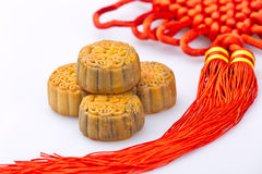 Chinese traditional food--Moon cake Royalty Free Stock Image