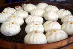 Chinese traditional food steamed stuffed bun Royalty Free Stock Images