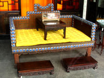Chinese traditional furnishing - the Palace Museum Stock Image