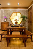Chinese traditional furniture Stock Photography