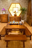 Chinese traditional furniture Royalty Free Stock Images