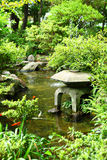 Chinese traditional garden. And pond Stock Image