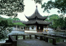 Chinese traditional garden Stock Photos