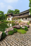 Chinese traditional garden landscape Royalty Free Stock Photography