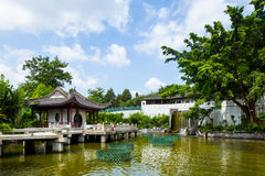 Chinese traditional garden Royalty Free Stock Photos