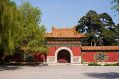 Chinese traditional gate Royalty Free Stock Photo