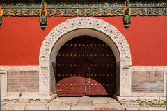 Chinese traditional gate Stock Photography