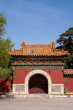 Chinese traditional gate Royalty Free Stock Image