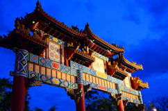 Chinese traditional gate Royalty Free Stock Photography