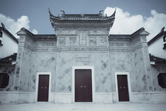Chinese traditional gatehouse Royalty Free Stock Photo