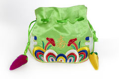 Chinese traditional gift bag Stock Photo
