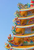 Chinese traditional gloriette Stock Images