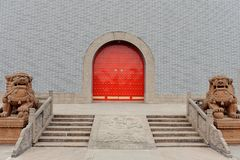 Chinese traditional grand gate Royalty Free Stock Photo