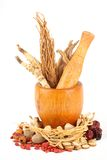 Chinese Traditional Herbal Medicine Stock Photography