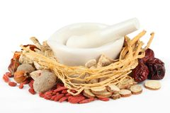 Free Chinese Traditional Herbal Medicine Royalty Free Stock Photos - 19662028