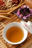 Chinese traditional herbal tea Royalty Free Stock Photos