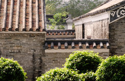 Chinese traditional house in the garden Royalty Free Stock Image