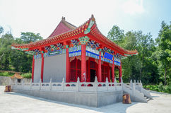 Chinese traditional pagoda house Royalty Free Stock Photo