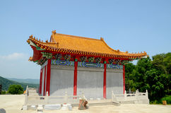 Chinese traditional pagoda house Royalty Free Stock Image