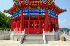 Chinese traditional pagoda house Stock Images