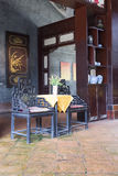 Chinese traditional interior architecture Stock Photos