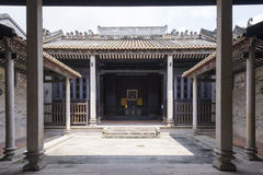 Chinese traditional interior architecture Royalty Free Stock Images