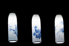 Chinese traditional lamps Stock Photography