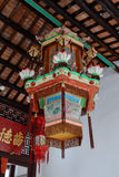 Chinese traditional lanterns. In Sam Tung Uk Museum, Hong Kong Stock Photo
