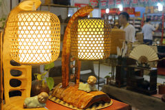 Chinese traditional lighting lantern Stock Photos
