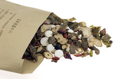 Chinese traditional medicine. In white blackground Stock Images