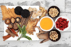 Chinese Traditional Medicine Stock Photography