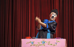 Chinese traditional mime actor Royalty Free Stock Photo