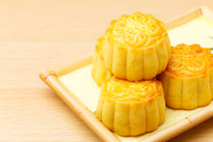 Chinese traditional mooncake Royalty Free Stock Images