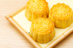 Chinese traditional mooncake Stock Photo