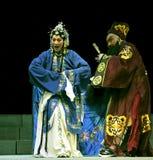Chinese traditional Mulian Drama Stock Image