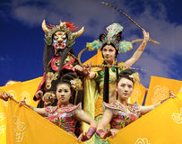 Chinese traditional opera Stock Photography